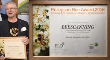 Ny utmärkelse till Björn Lagermans BeeScanning