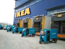 IKEA siktar på nollutsläpp för hemleveranser i fem storstäder till 2020