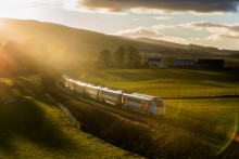 Virgin Azuma train debuts in Highlands