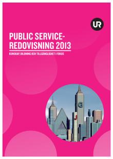 UR:s public service-redovisning 2013