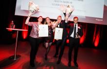Grant Thornton delar ut pris till Gasellvinnarna i Skåne och Blekinge