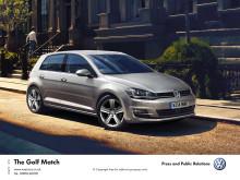 New VW Golf Match model offers strikingly good value