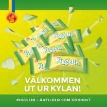 Piggelin - Candy Peoples första hårda karamell i glassgodisserien