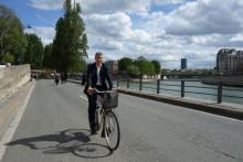 Paris planerar, fotgängarna flanerar