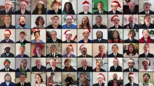 Met Police Choir joins forces with NHS choir to raise money for charity