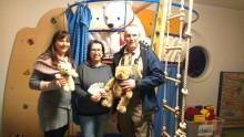 Blutspenden für Bärenherz: Sprint Sanierung GmbH spendet doppelt