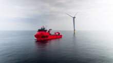 Innovative cooperation between offshore wind turbines and drones
