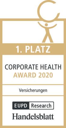 Gothaer gewinnt zum 6. Mal Corporate Health Award