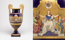 Nationalmuseum acquires magnificent urn made at the Gustavsberg Porcelain Factory