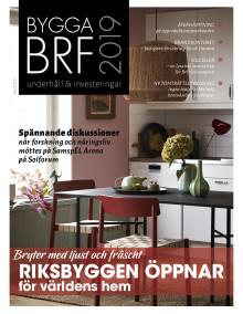 Nya numret av Bygga Brf nr 5 2019 ute nu!