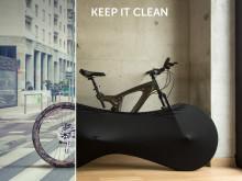 Med Sykkeltrekket Velosock kan du oppbevare sykkelen hjemme med stil!
