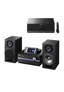 Envoyez de la musique partout chez vous avec la nouvelle chaîne Giga Juke NAS-SC500PK