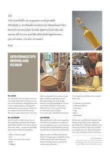 Serveringstips Brännland Cider
