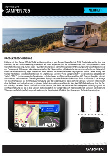 Datenblatt Garmin Camper 785 MT-D