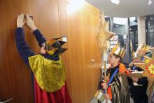 Sternsinger segnen Paul-Wunderlich-Haus