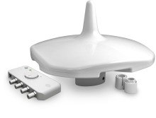 Enjoy HD TV afloat with the new Digital Yacht DTV100 Antenna
