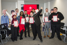 You're hired! GTR gives 10 more Prince's Trust youngsters a start in life
