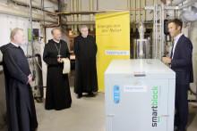 Neues Minikraftwerk im Kloster Rohr gesegnet