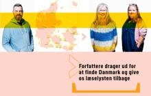 Hvem er Danmark?  20 forfattere drager ud for at finde svaret og give os læselysten tilbage
