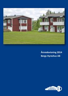 Årsredovisning Bergs Hyreshus AB år 2014