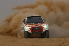 Mitsubishi satsar på seger i 2009 års Paris Dakar