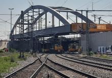 2. Stammstrecke: Baufinale für die Stabbogenbrücke