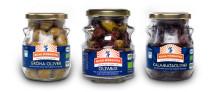 Kung Markattas Kalamataoliver och Gröna oliver möts i nytillskottet – Kung Markatta Olivmix!