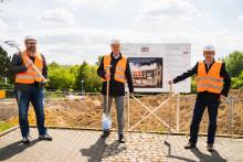 Digitaler Spatenstich für das neue Campus-Gebäude der Universität Witten/Herdecke