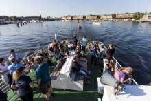 Fler utländska besökare valde Sverige under första kvartalet