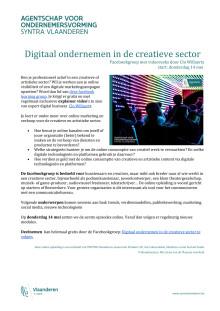 Digitaal ondernemen in de creatieve sector