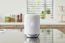 Kabelloser 360-Grad-Lautsprecher mit eingebautem Google Assistant