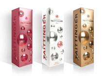 Taittinger Brut Champagne – I ny modeinspirerad presentförpackning/giftpack