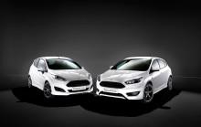 Ford lanserer sportslig ST-Line. Fiesta ST-Line og Focus ST-Line er tilgjengelige for bestilling.
