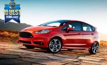 Kelley Blue Book placerar Ford Fiesta på topp tio listan över coola bilar under 150 000 kronor