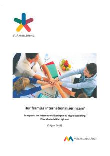 Rapport: Hur främjas internationaliseringen?