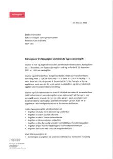 Høringssvar Norwegian