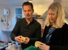 Anne Arhnung besøger FødevareBanken