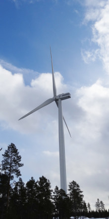 Umeå Energi först i Norden med varningssystem på vindkraftverk