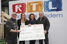 """Santander spendet 50 000 Euro an RTL-Stiftung """"Wir helfen Kindern"""""""