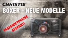 Neue Modelle vom Christie Boxer -  jetzt lieferbar bei publitec