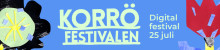 Korröfestivalen 2020 – Digital festival 25 juli