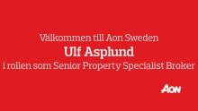 Varmt välkommen till Aon – Ulf Asplund