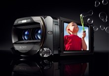 Sony reinvents its Handycam® camcorder line with a full HD 3D solution among other breakthrough models