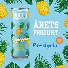 NOCCO Caribbean årets produkt hos Pressbyrån