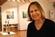 Marianne Degerman ställer ut på Lindesbergs stadsbibliotek