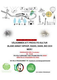 Affisch Föreningen Nordens Ungdomsförbund FNUF