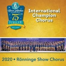 Världsmästarkören Rönninge Show Chorus medverkar vid internationellt digitalt konvent