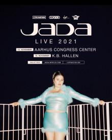 Jada annoncerer sine to største headliner shows til dato i Aarhus og Kbh. næste år