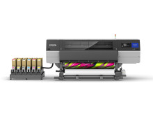 Epson launches first 76-inch Industrial Dye-Sublimation Textile Printer with LcLm Inks and Fluorescent Solution