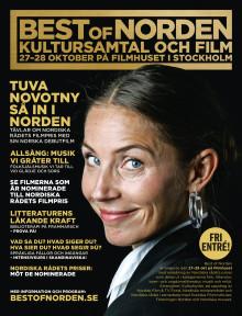 Den 27-28 oktober kommer den nordiska kultureliten till Stockholm och Best of Norden